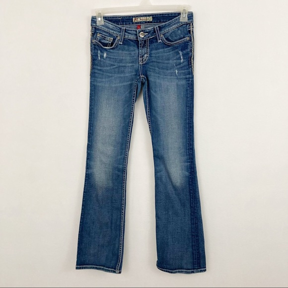 BKE BUCKLE Madison Bootcut Denim Jeans 27x33.5